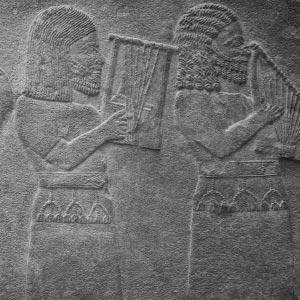 Escultura de arqueología del mundo antiguo
