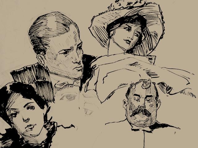 personas ilustracion dibujos