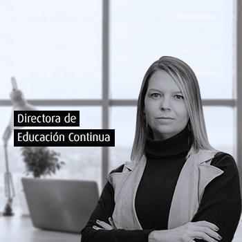 Maria Andrea Leyva Directora Educación Continua Uniandes