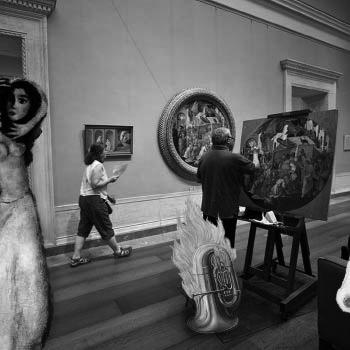 museo pinturas personas