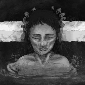 pintura mujer mestiza