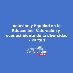 Conferencia Inclusion y equidad en la educación en Uniandes