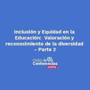 Conferencia sobre Inclusión y equidad en la educación Uniandes