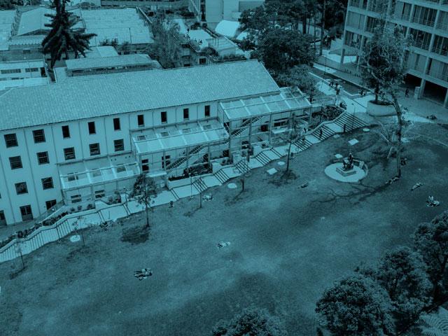 edificios estudiantes campus uniandes