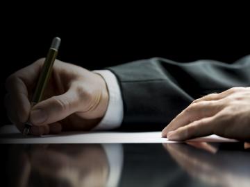 Escritura jurídica