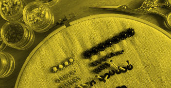 Bordado manual y ornamentación textil (registro cerrado)