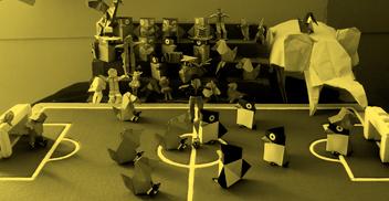 Taller Origami: estructuras, arte y plegado