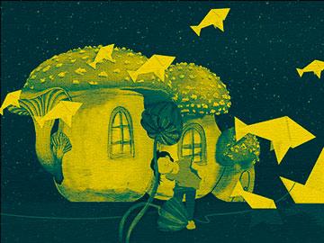 Arte para niños: juegos con luces, sombras, colores y contrastes