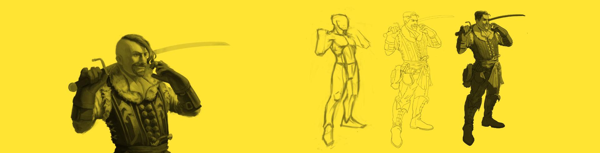 Dibujo: diseño e ilustración de personajes