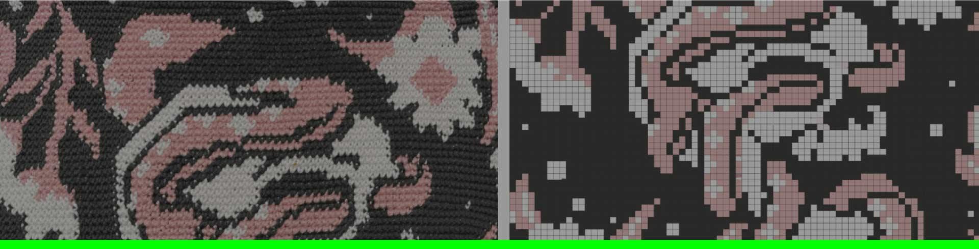 De imagen a punto: ilustrar con tejido