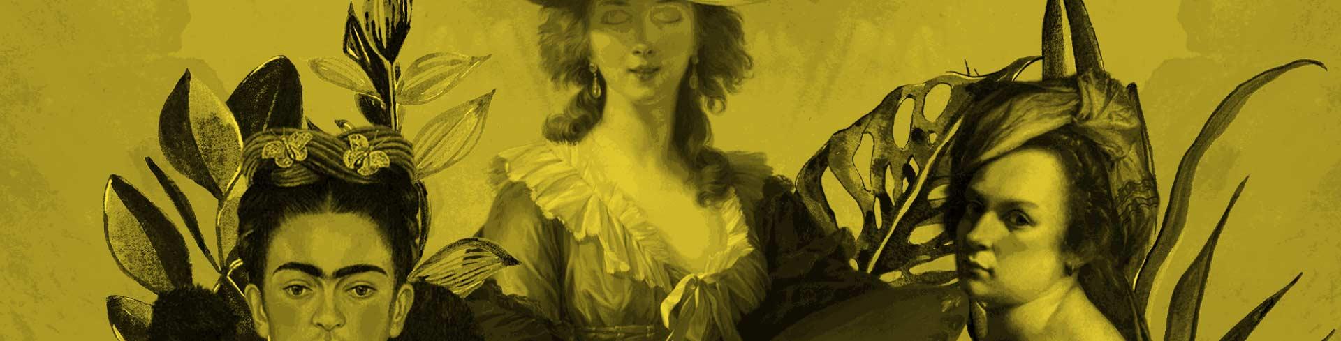 Gentileschi, Vigée Le Brun y Kahlo: espejo y autorretratos de tres pintoras